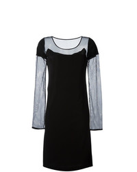 Maison Margiela Mesh Sleeves Dress