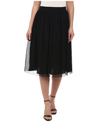 Midi skirt with elastic medium 321578
