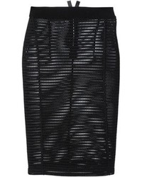 Mrz mesh pencil skirt medium 78611