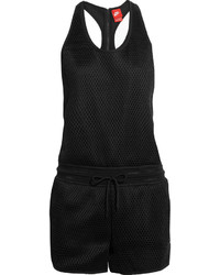 Nike Court Hypermesh And Jersey Playsuit Black