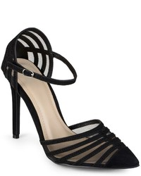 Journee Collection Fancy Mesh High Heels