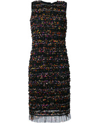 Givenchy Ruched Mesh Shift Dress