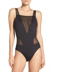 Kenneth Cole New York Kenneth Cole Mesh One Piece Swimsuit