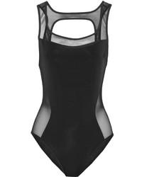 Jason Wu Mesh Paneled Swimsuit