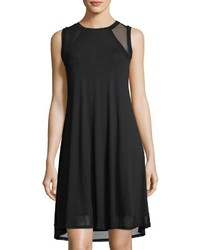 Mesh inset high low tank dress medium 4416284