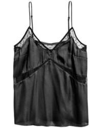 Satin camisole top with mesh medium 5031507