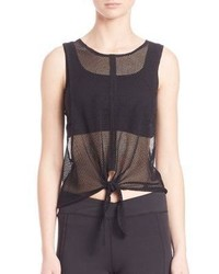 Free People Sleeveless Mesh Tank