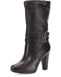 Black mid calf boots original 10270321