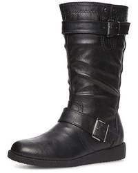 Dorothy Perkins Black Mid Calf Boots