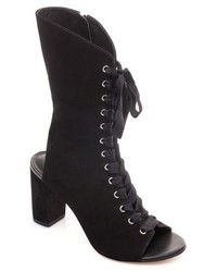 Heidi mid calf open toe bootie medium 4423037