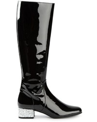 Saint Laurent Babies Mid Calf Boots