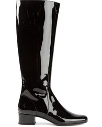 Saint Laurent Mid Calf Riding Boots
