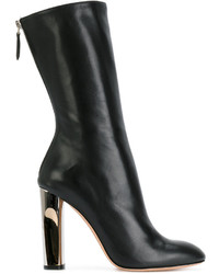 Alexander McQueen Sculpted Heel Fitted Boots