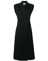 Maison Margiela Belted Tailored Midi Dress