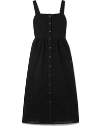 J.Crew Coletta Broderie Anglaise Cotton Voile Midi Dress