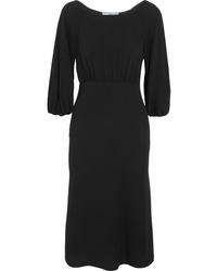 Prada Crepe Midi Dress