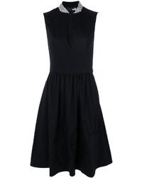 Love Moschino Flared Midi Dress