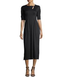 Isabel Marant Keyhole Long Cotton Midi Dress