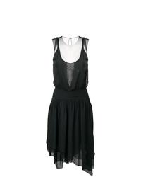 Karl Lagerfeld Mesh Evening Dress