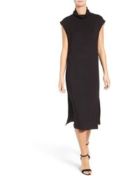 Cupcakes And Cashmere Mirabel Cowl Neck Midi Dress