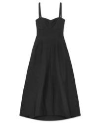 Jil Sander Poplin Maxi Dress
