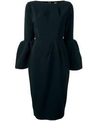 Roksanda Rouches Sleeves Midi Dress