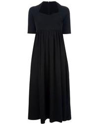 Romeo Gigli Vintage Pleated Midi Dress
