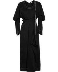 Loewe Shell Midi Dress Black