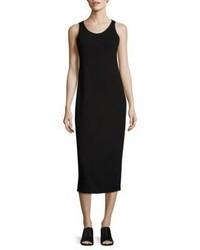 Eileen Fisher System Scoopneck Jersey Midi Dress