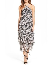 Tiered midi dress medium 967966