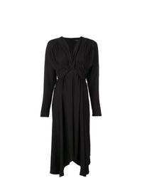 Isabel Marant V Neck Ruched Dress
