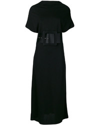 Maison Margiela Wide Belted Midi Dress