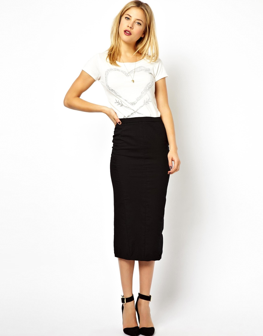 Tube skirt midi – Modern skirts blog for you