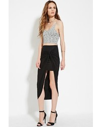 Forever 21 Contemporary Knotted Midi Skirt