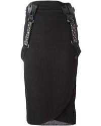 Geoffrey B Small Suspender Midi Skirt