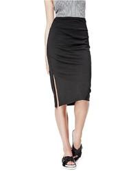 GUESS Kim High Rise Midi Skirt