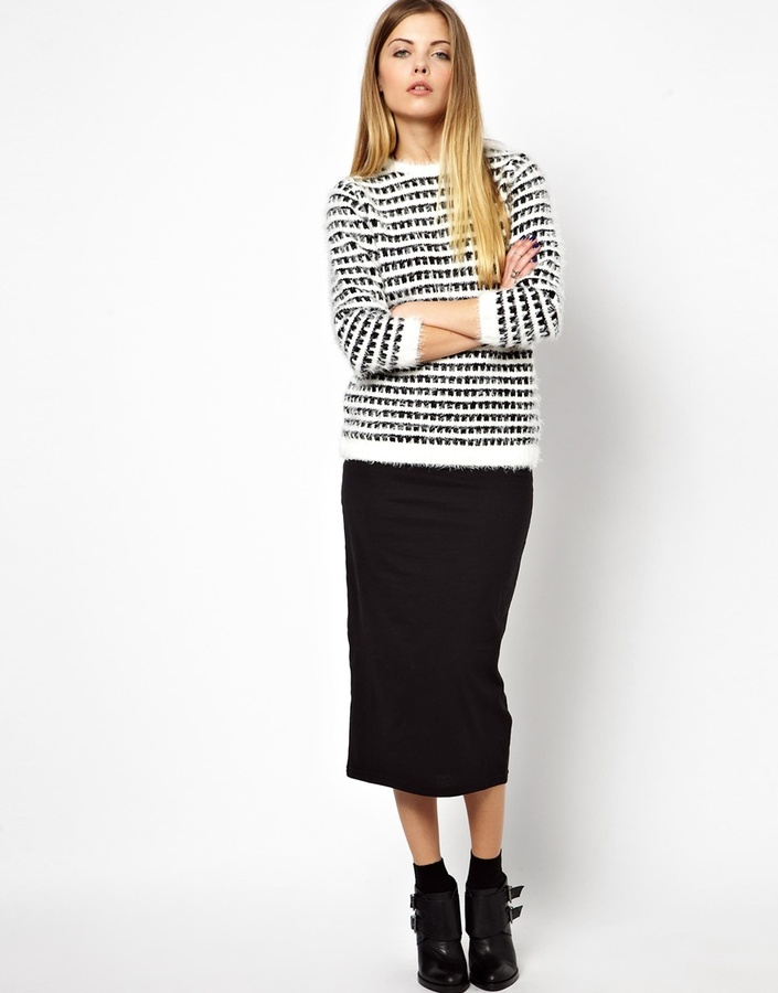 noisy may midi pencil skirt where to buy how to wear