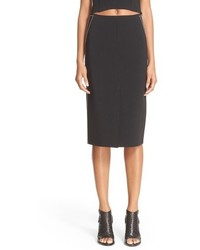 Rag & Bone Phoebe Back Zip Midi Skirt