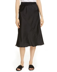 ATM Anthony Thomas Melillo Pull On Silk Skirt