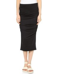 Ruched midi skirt medium 176162
