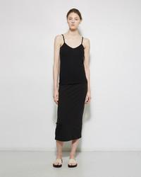 Ivan Grundahl Straight Jersey Skirt