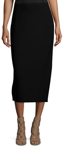 1f978819f7 Eileen Fisher Washable Silkcotton Midi Pencil Skirt, $218 | Neiman ...