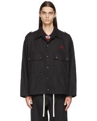 Vivienne Westwood Black Ben Overshirt Jacket