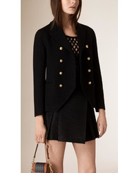 Burberry Cashmere Military Jacket