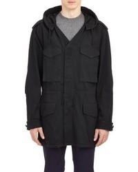 Maison Margiela Hooded Field Jacket Black