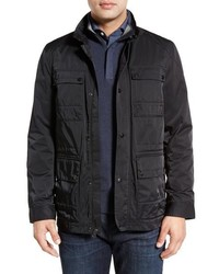 John W Nordstrom Nylon Military Jacket