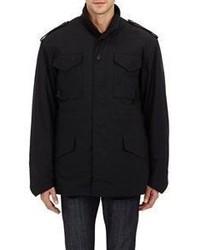 Bless M 65 Hooded Field Coat Black