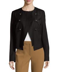 Derek Lam Military Jacket Black