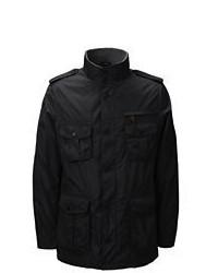 Lands' End Military Jacket Dark Gray