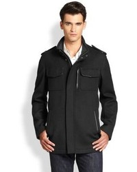 Cole Haan Modern Twill Military Jacket